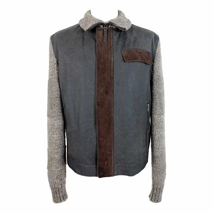 iceberg-jacket-bomber-leather-wool-vintage-brown