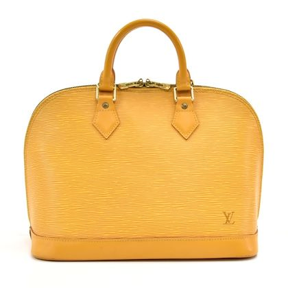 louis-vuitton-alma-yellow-epi-leather-handbag