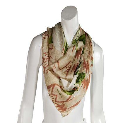 multicolor-chanel-floral-silk-scarf