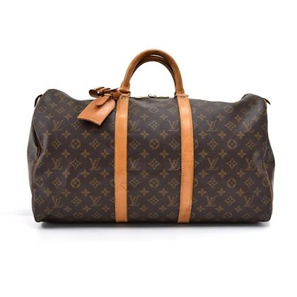 fe9f2257d54e ... vintage-louis-vuitton-keepall-50-monogram-canvas-duffle-