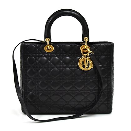 christian-dior-lady-dior-large-black-quilted-cannage-leather-handbag-2