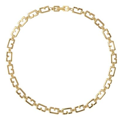 1980s-vintage-givenchy-g-link-necklace