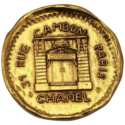 vintage-gold-plated-chanel-brooch-rue-cambon