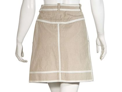 beige-louis-vuitton-corduroy-mini-skirt