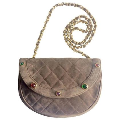 vintage-chanel-beige-brown-cocoa-brown-suede-leather-chain-shoulder-bag-with-green-red-and-purple-gripoix-stones-rare-masterpiece