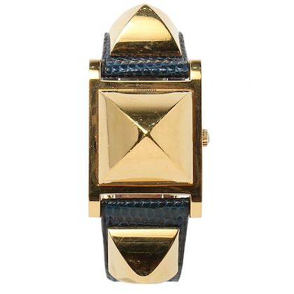 hermes-lizard-medor-watch-blue-de-presse