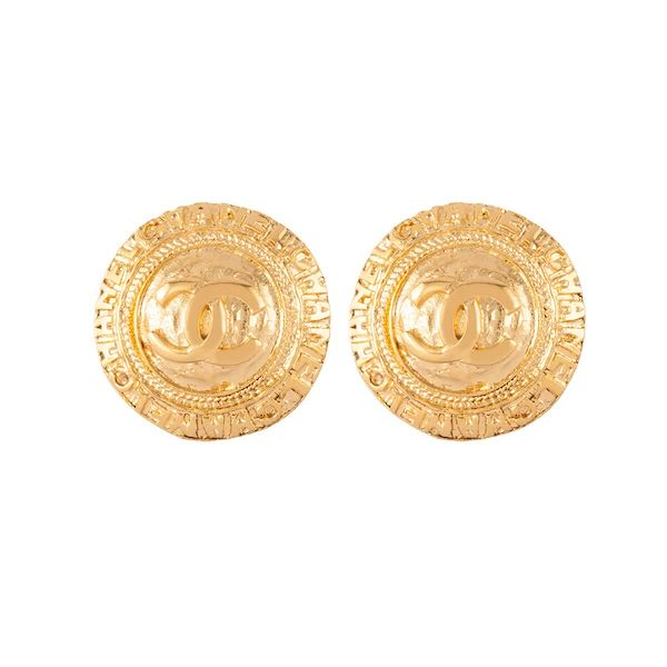 1980s-vintage-chanel-logo-clip-on-earrings