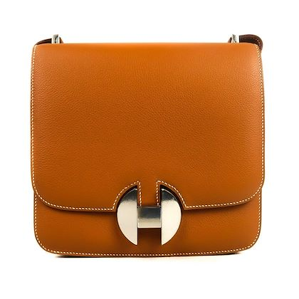 hermes-2018-h-flap-bag-20-cm-brown-gold-tan-leather-silver-constance-new