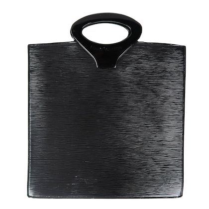 louis-vuitton-black-epi-ombre-bag-leather-resin-frame-handles-pre-owned-used