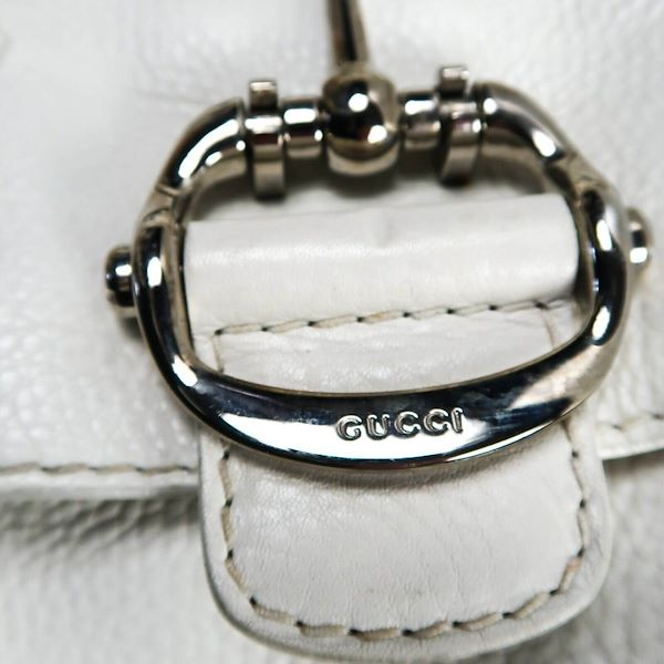 gucci-large-white-shoulder-bag-leather-multi-strap-flap-silver-horsebit-pre-owned-used