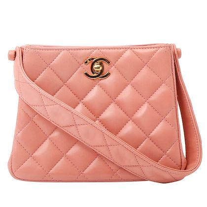 chanel-double-face-turn-lock-handbag-coral-pink