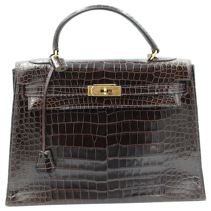 hermes-vintage-brown-kelly-croco-32
