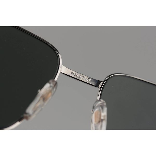 bausch-lomb-120-10k-gf-gold-filled-sunglasses-mod-517-silver-58mm