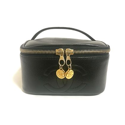 vintage-chanel-black-caviar-leather-cosmetic-and-toiletry-pouch-with-golden-cc-charms-very-chic-vanity-purse-must-have