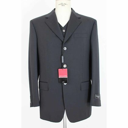 pierre-cardin-pants-suit-ceremony-vest-vintage-wool-black