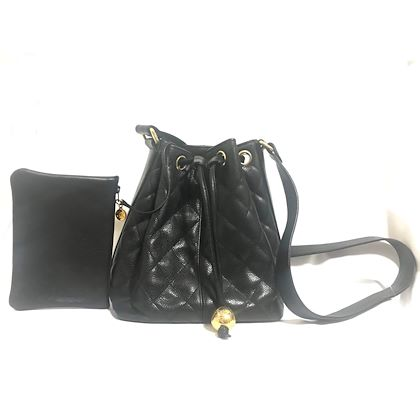 vintage-chanel-black-quilted-caviar-leather-hobo-bucket-shoulder-bag-with-drawstrings-and-golden-cc-mark-ball