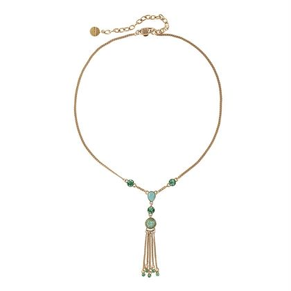1980s Vintage Givenchy Victorian Revival Tassel Necklace