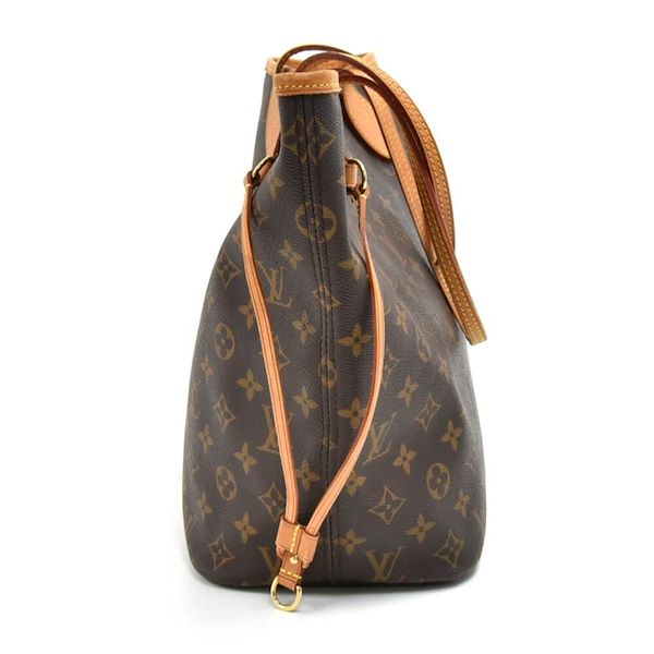 474f924af842 Louis Vuitton Neverfull MM Monogram Canvas Shoulder Tote Bag