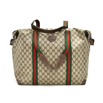 9f9d64beb2713 ... vintage-gucci-accessory-collection-gg-supreme-coated-canvas-