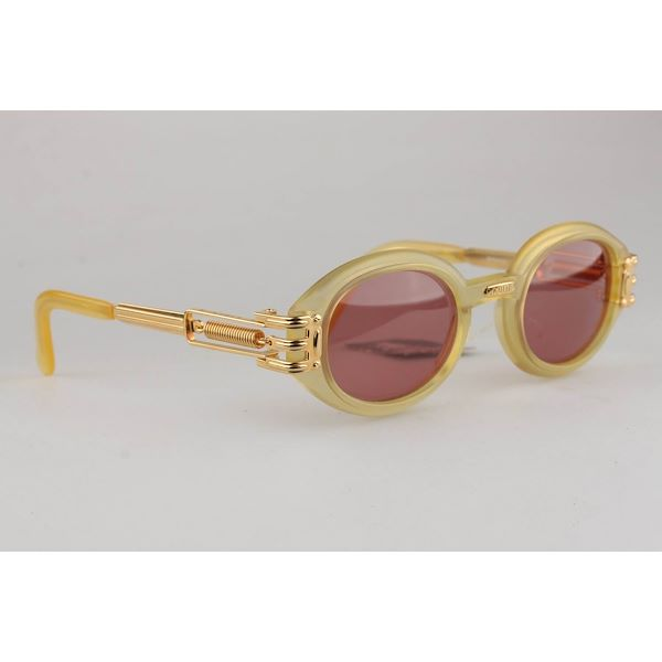jean-paul-gaultier-vintage-gold-oval-sunglasses-56-5203-135mm-wide