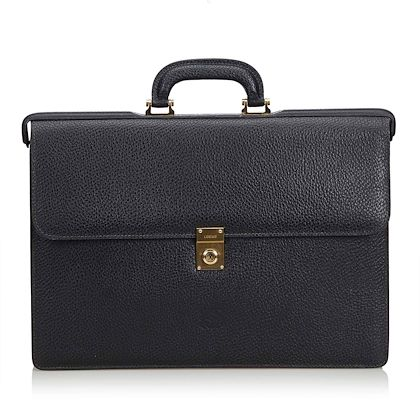 black-loewe-leather-briefcase