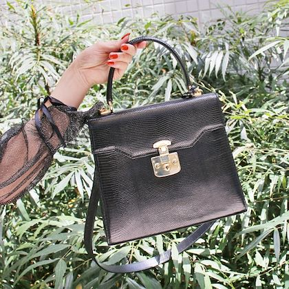 gucci-lizard-lady-lock-2way-bag-black