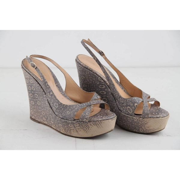 sergio-rossi-embossed-leather-wedges-shoes-size-40