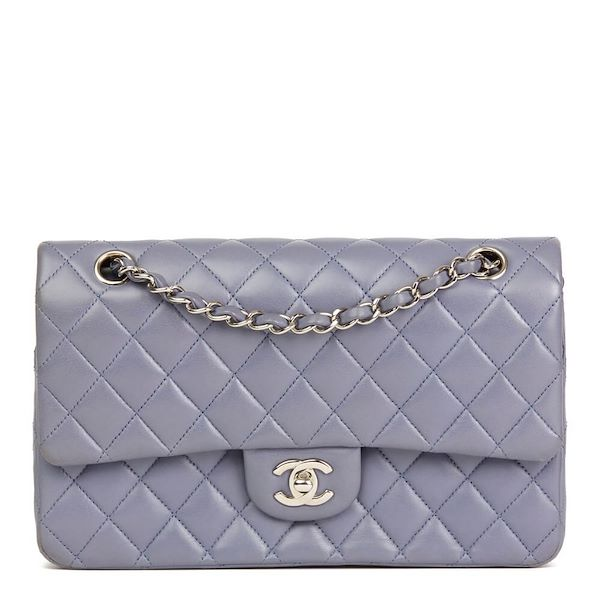 70eece9e505a lilac-quilted-lambskin-medium-classic-double-flap-bag