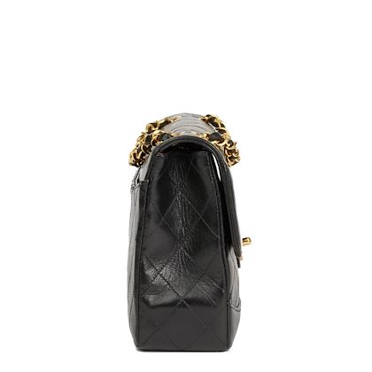 black-quilted-lambskin-vintage-classic-single-flap-bag-with-wallet