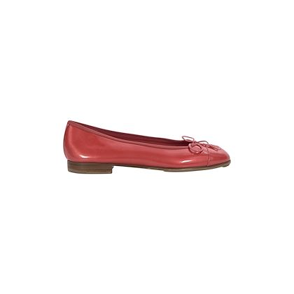 orange-chanel-cc-logo-pearlized-ballet-flats