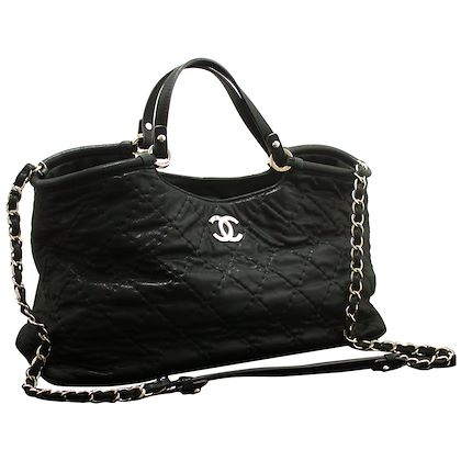 chanel-2-way-2012-chain-shoulder-bag-handbag-black-quilted-coated-2