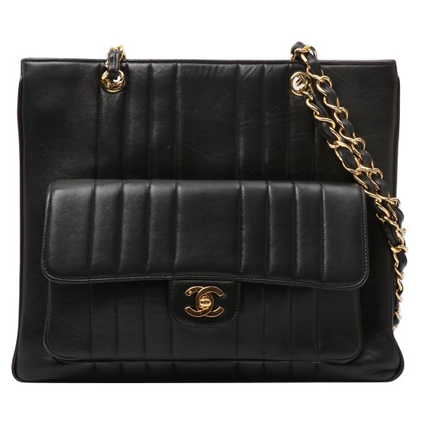 541abd74ecea Chanel Mademoiselle Turn-lock Tote Bag Black