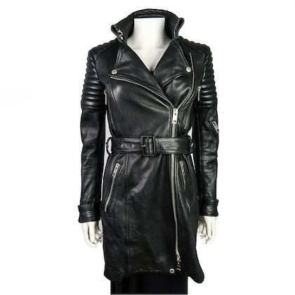 burberry-leather-jacket-moto-long-black-quilted-belted-zip-up-coat-it-40-us-6-pre-owned-used