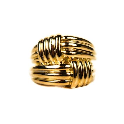 tiffany-gold-twisted-braided-ring-55-pre-owned-used
