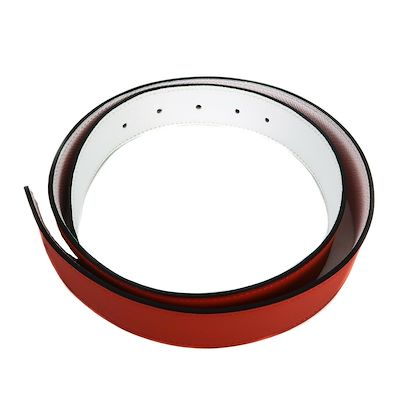 hermes-leather-belt-reversible-red-white-85-32mm-new