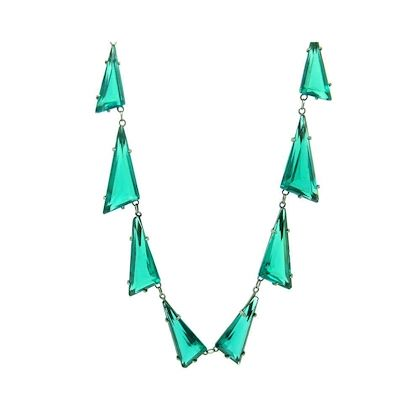 vintage-1930s-art-deco-statement-emerald-green-bohemian-necklace
