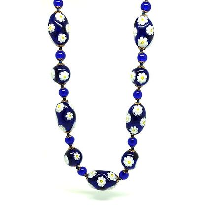 vintage-1950s-millefiori-beaded-glass-murano-necklace