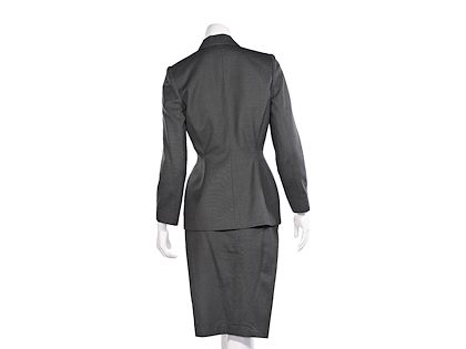 grey-vintage-thierry-mugler-wool-skirt-suit-set