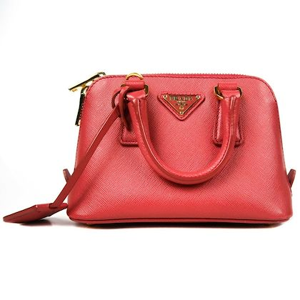 prada-saffiano-pink-mini-leather-zip-up-hand-bag-crossbody-shoulder-strap-pre-owned-used