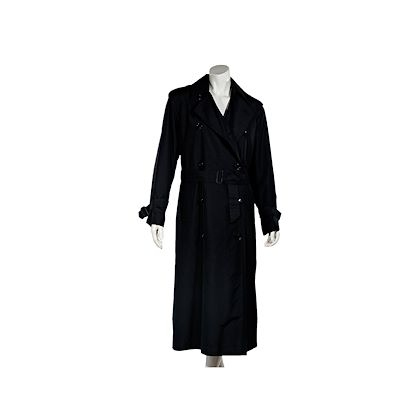 black-vintage-yves-saint-laurent-silk-trench-coat