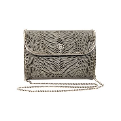 grey-vintage-gucci-lizard-crossbody-bag