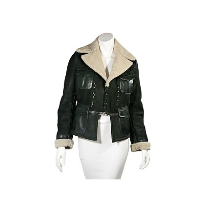 green-cream-dsquared2-shearling-jacket