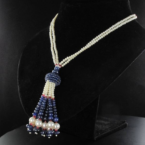 sapphire-beads-cultured-pearls-tourmalines-beads-pompom-pendant-necklace