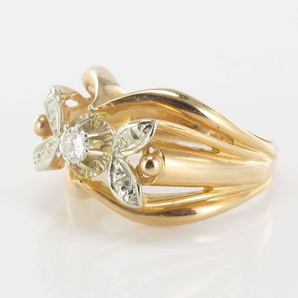 french-1960s-rose-gold-white-gold-diamond-ring