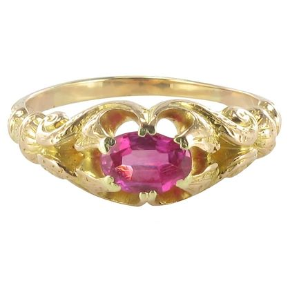 1900s-ruby-gold-ring