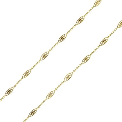 french-1920s-antique-gold-spindle-link-chain-necklace