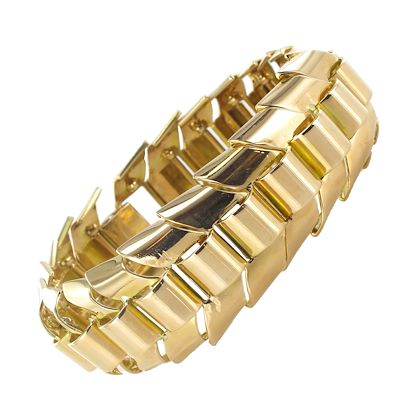 gold-articulated-tank-bracelet-with-ears-of-wheat-links