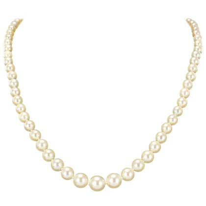 1950s-japanese-cultured-round-white-pearl-necklace