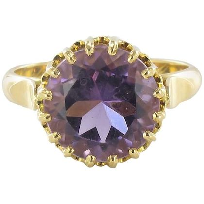 1900s-french-gold-amethyst-ring