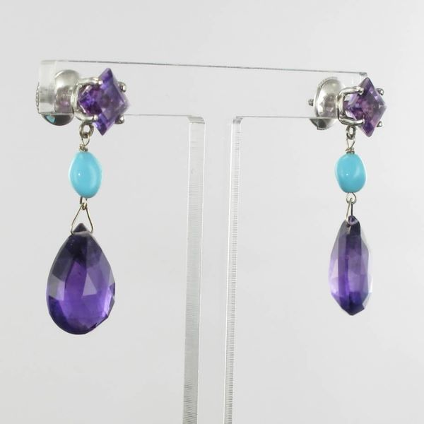 baume-amethyst-turquoise-18-carat-white-gold-dangle-earrings